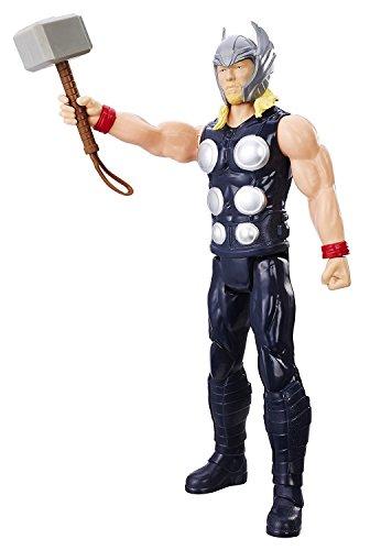 Avengers 12-Inch Marvel Titan Hero Series Thor / Black Panther / Ant Man / Captain America / Iron Man Figures £6.50 each Prime / £10.49 Non Prime @ Amazon