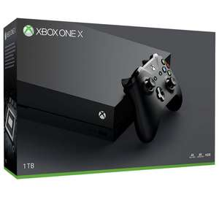 Xbox One X 1TB + PlayerUnknown's Battlegrounds + Call of Duty WWII + Call of Duty 4: Modern Warfare - £449.99 @ Argos + £5.00 giftcard via Vouchercodes