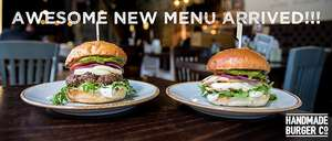 2  Handmade Burger Co. Burgers for only £12 @ O2 Priority