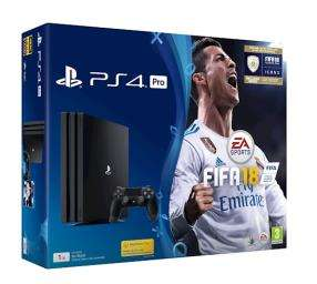 PS4 Pro (1TB) plus FIFA 18 £298.99 (delivered) at Grainger Games