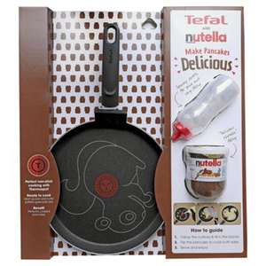 Tefal Pancake Pan and Nutella Set £5.75 @ Tesco instore