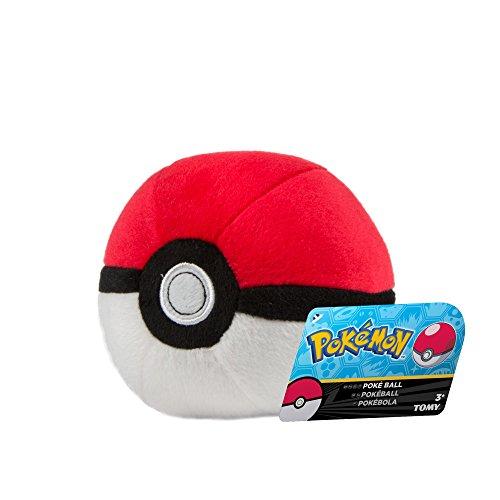 TOMY Pokemon Poke Ball Plush Toy £2.98 Add On Item @ Amazon