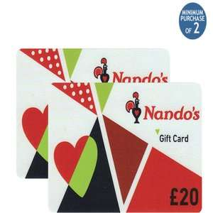 Nando's / Vue / Pizza Express Gift Cards £120 worth for £86.97 (27.5% discount) @ Costco online (Costco Members)