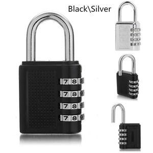 4 Digits Number Password Code Lock Mini Combination Padlock £1.99 @ eBay amazinguk-city