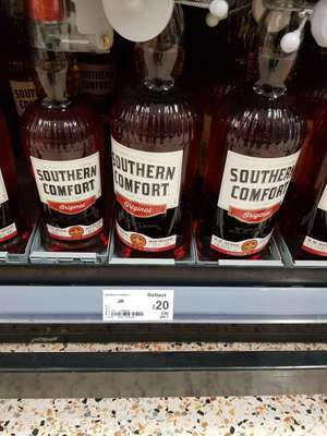 1lt Bottle of Southern Comfort £20 @ Asda