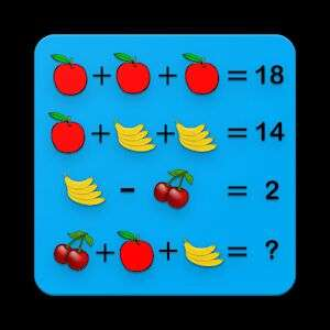 Different Math Puzzles 2018 - Puzzles for Geniuses App (Android game FREE on Google Play)