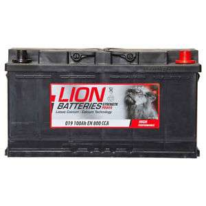 Lion Car Battery 100Ah Type 019 800CCA 3 Years Wty OEM Replacement £67.79 @ Eurocarparts / Ebay