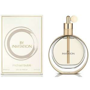 Michael Buble By Invitation EDP Spray 100ml £20 - Free c&c @ Lloyds pharmacy