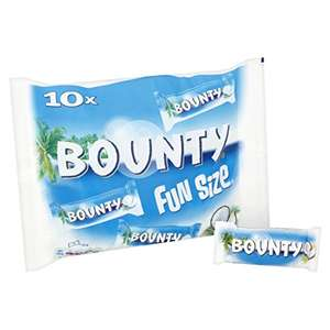 180 single Bounty bars 303 g - Pack of 16, Total 160 bars - £20.99 at Amazon