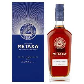 3 x Metaxa 12 Stars (£25 each) + £5 worth of groceries + Code -  £60 - (£5 quidco) @ Waitrose