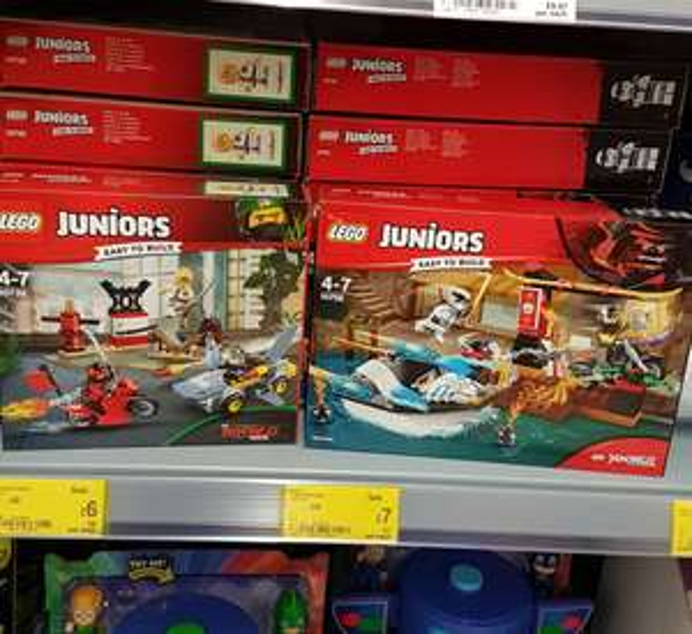 Lego Juniors Ninjago sets half price at Asda -  Burnley e.g 10739 Ninjago - was £12, now £6.