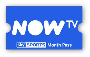 Sky Sports Month Pass £20 (normally £33.99) + a 30 day Sky Cinema free trial @ Now TV - [new customer a/c or new email address]