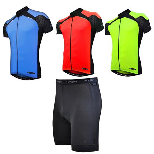 Funkier Force Mens Short Sleeve Jersey £16 (various colours) / Funkier Evolve Mens Undershorts £8.99 @ Tredz