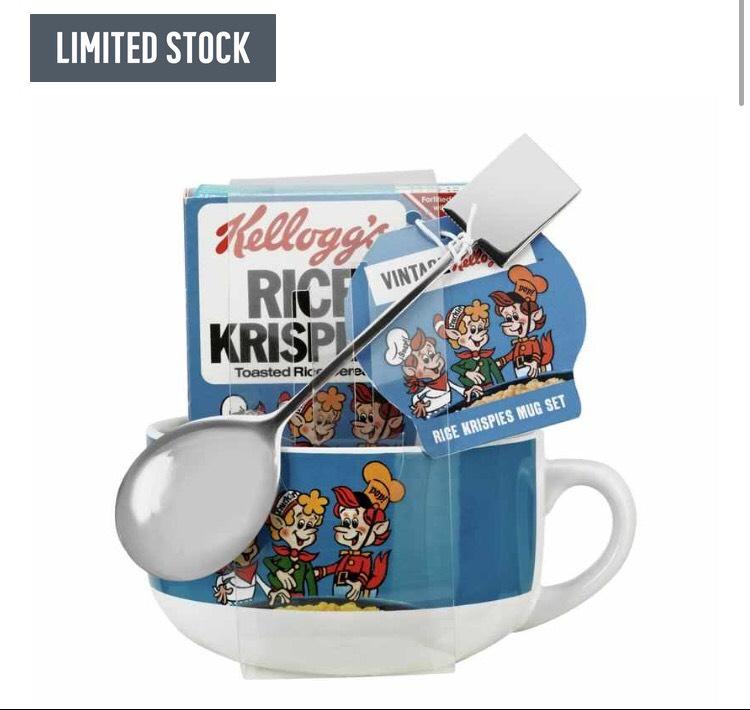 Kellogg's Rice Krispie Mug and Spoon Set at Argos for £2.74
