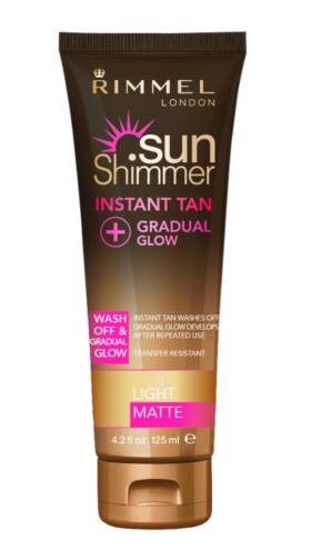 Rimmel Sunshimmer instant tan  Superdrug was £6.99 - 70p light colour only  in store