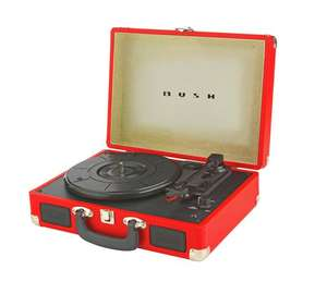 Bush Classic Retro Turntable Vinyl player - Red/Brown/Black/Teal colours £19.99 @ Argos