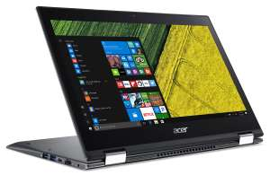 Acer Spin 5 13.3'' Inch i3 4GB 128GB SSD Laptop *FHD*  Black, Hybrid (2 in 1) @ Argos £379.99