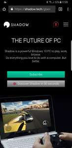 Blade Shadow Cloud PC Subscription