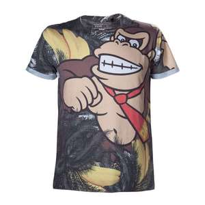 Donkey Kong T-Shirt S & XL £12.99 / £14.98 delivered @ Nintendo (£1.99 delivery)