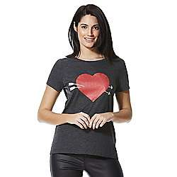 Arrow love heart T shirt, £2.50 @ Tesco direct, free c&c. Make good pj top maybe, Friday I'm In love.