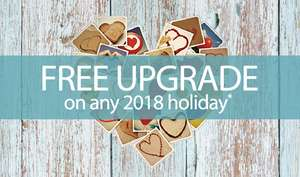 Free Upgrades on Park Holidays for Mother's Day