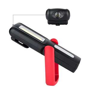 Amazon Lightning Deal - Very bright work light - was £14, then £10, now £7.64 Prime / £11.63 non-Prime - Sold by Eletorot / Fulfilled by Amazon