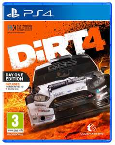 [PS4] Dirt 4 Day One Edition - £11.90 (As New) - Amazon/Boomerang