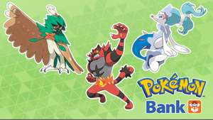 3 Free Pokemon with special abilities if you have Pokemon Bank.