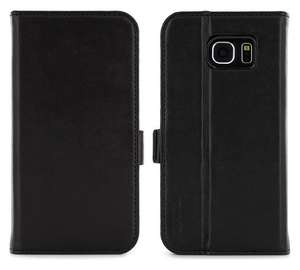 Samsung Galaxy S6 Leather Style Folio Case in Black - £3.99 + Free click and collect at Argos