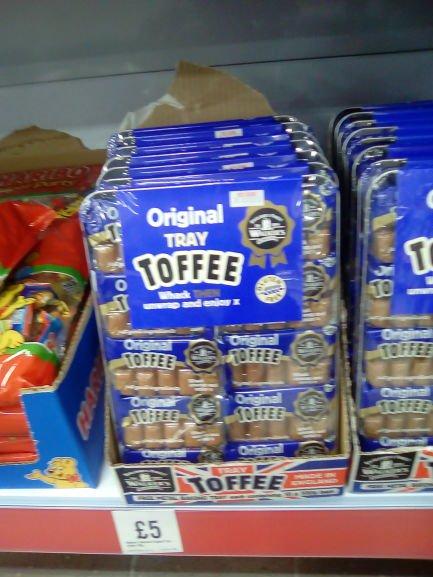 Tray of 10 packs of Walkers original packet toffee £5 @ Iceland,instore