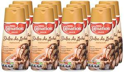 Carnation Dulce De Leche Caramel Sauce, 12 x 450 g £10.60 Prime / £15.35 Non Prime - amazon