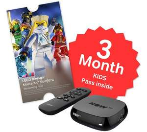 NOW TV Box with 3 Month Sky Kids Pass + Free click and collect at Argos - £13.99