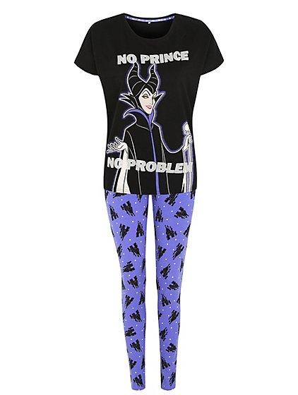 Womans Disney Maleficent Pyjamas £8.00 (was £15.00) @Asda Direct free C+C