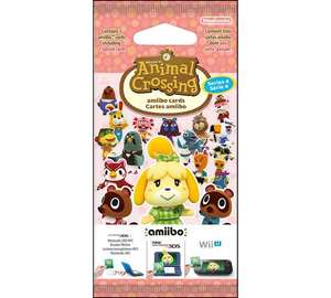 Animal Crossing New Leaf amiibo Card Pack + Free click and collect at Argos - £1.29