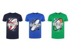 England, Scotland or Ireland Rugby Ball T-Shirts now £3 @ George (Free C&C)
