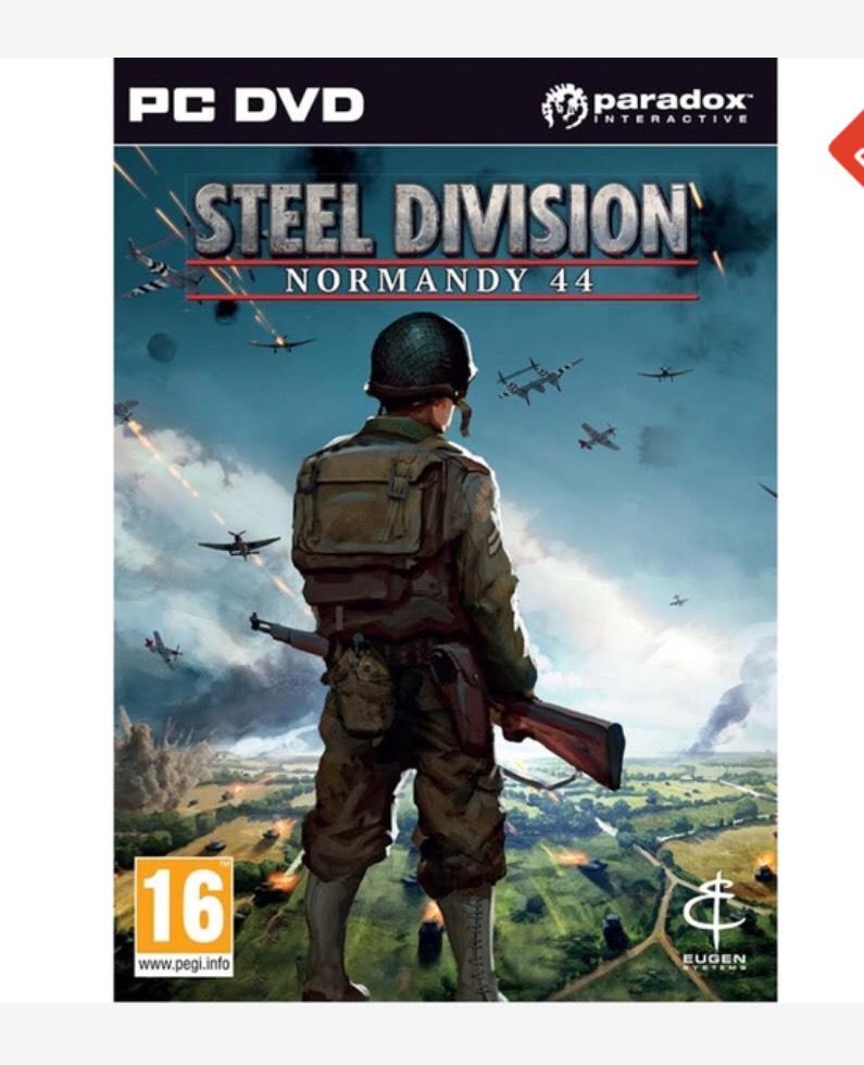 Steel Division Normandy 44 Steam £8.99 @ CDKEYS