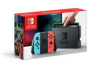 Nintendo Switch 32GB Console Neon Blue Red £255 at Tesco eBay (last one)