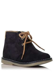 Younger boys Chukka Boots sizes 7, 9 jnr, now £8 was £16 @ Asda George