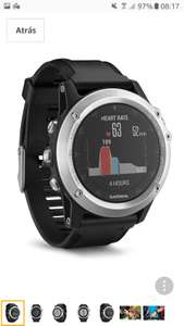GARMIN FENIX 3HR 289euro ~ 256.76 GBP from amazon.es