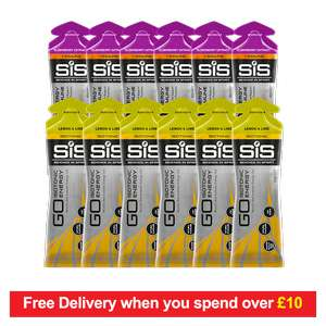 12 Free Science in Sport Energy Gels (usually £19.40) Only Pay P&P £3.99 - Free to Premier Account Members