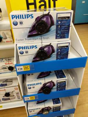 Philips GC2045/80. (online out of stock, but in store Tesco Extra Beckton) - £19