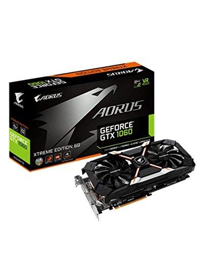 GIGABYTE AORUS GeForce GTX 1060 6G 9Gbps Xtreme Edition (Pre-order) - £311.09 @ Amazon