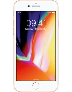 iPhone 8 256GB Gold for price of 64GB - £699 @ CPW