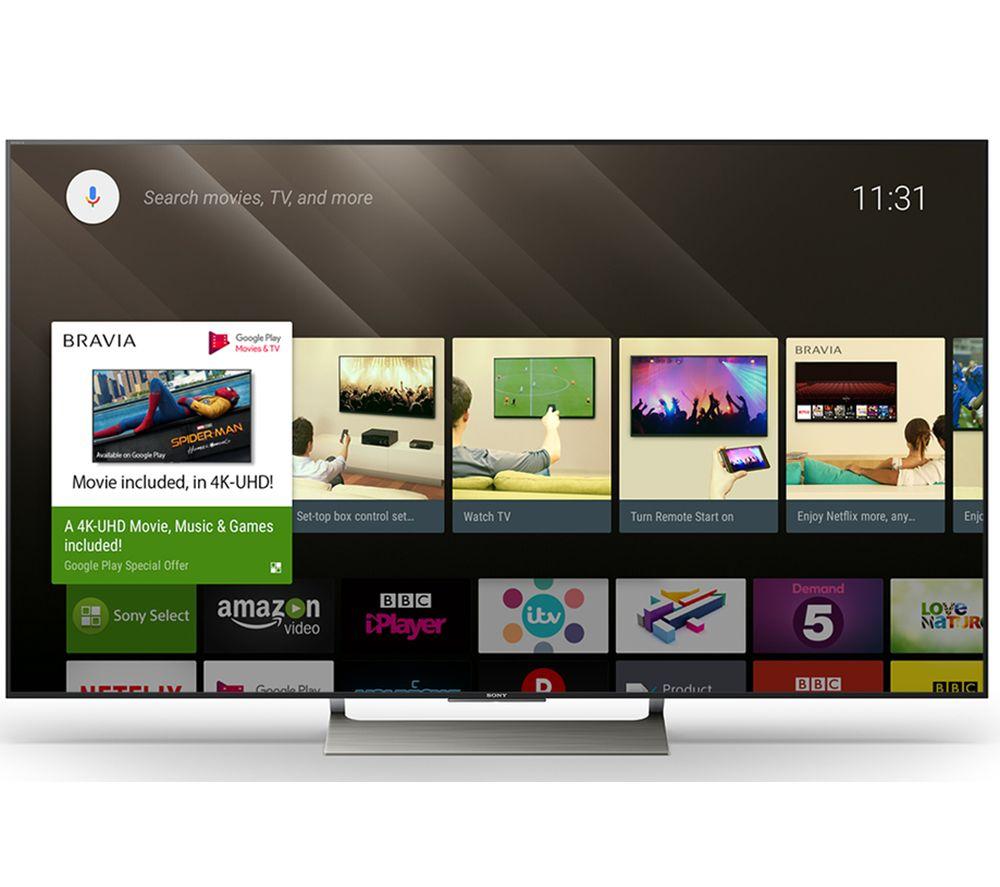"SONY BRAVIA KD49XE9005 49"" Smart 4K Ultra HD HDR LED TV - £869.97 @ Currys"