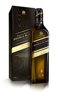 Johnnie Walker Double Black Label Blended Scotch Whisky, 70cl - £26.99 @ Amazon