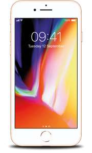 Iphone 8 64GB Vodafone £31.80 per month 32gb data & entertainment pack @ Vodafone Retentions