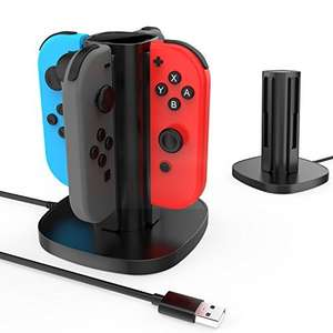 GameWill Switch Joy-Con Fast Charging Dock for Nintendo Switch Joy-Con - £16.14 (Prime) £20.13 (Non Prime) Lightning Deal @ Sold by GameWill and Fulfilled by Amazon