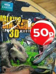 Walking with Dinosaurs: The 3D Movie Blind Bags - 50p instore @ WH Smith