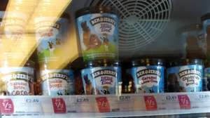 Ben & Jerry's half price at co-op instore - £2.49