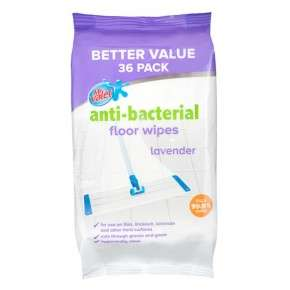 Antibacterial floor wipes, 36 pack for just £1 @ poundland, cheaper than wilko floor wipes